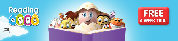 how to teach pre-reading skills: Reading Eggs FREE 4 Week Trial